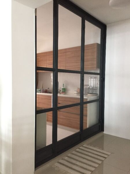 Kitchen/ Living Partition