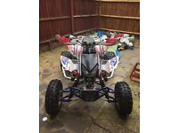Road legal quad bike swap for Yamaha banshee trx 450r Honda 2005
