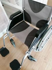 Ableworld Lightweight Aluminium Wheelchair