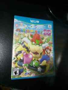 Mario Party 10, WiiU. Brand new Sealed copy.