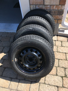 175/70/R14 WINTER TIRE ICE BLAZER SAILUN WITH RIM