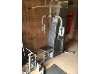 Multi gym with boxing bag £180 was £600