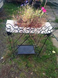 Metal hall stand/garden planter Shabby Chic