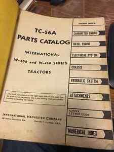 IH McCormick W400 W450 Tractor Parts Manual Regina Regina Area image 2