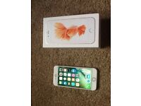 iPhone 6s 64gb roses gold unlocked boxed fantastic condition
