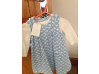 Miniclub baby girl outfit size 3-6 months BNWT