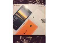 Brand New Nokia Microsoft Lumia 640 LTE , Black, o2