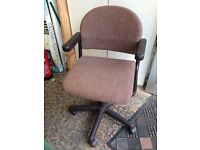 Office chair - height adjustable