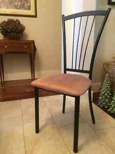 Hardly used Amisco brand dining chairs