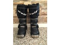 Wulfsport Cub MX series kids motocross boots