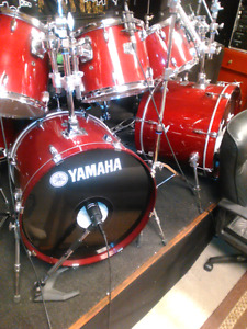 8 pcs stage custom for sale plus all hardware and cymbals
