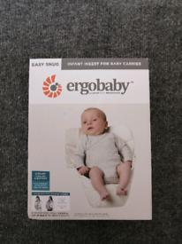 Ergo baby easy snug infant insert for baby carrier