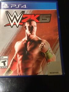 WWE 2K15 PS4  Cambridge Kitchener Area image 1