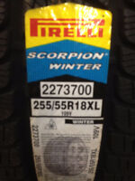 NEW Pirelli Scorpion Winter 255/55R18 BMW Porsche $70 REBATE
