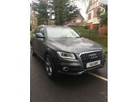 2014 Audi Q5 2.0TDI ( 177ps ) quattro Tronic S Line Plus BUY FOR £78 PER WEEK