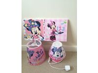 MINNIE MOUSE COMPLETE BEDROOM MAKEOVER SET