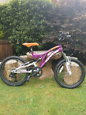 Girls ignite sapphire 20 inch wheel bicycle