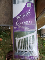 PVC stair railings