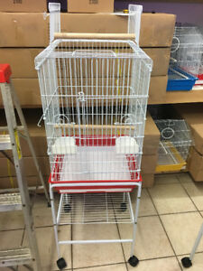 brand new large parrot cage model 1033F on sale now