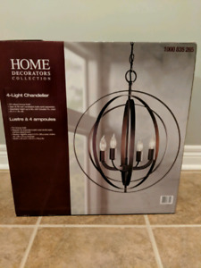 Home Decorator's Collection 4 Light Chandelier