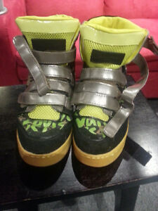 Louis Vuitton Stephen Sprouse high top sneakers 9.5