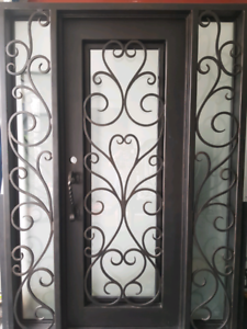 Wrought Iron Door Punchbowl Canterbury Area Preview