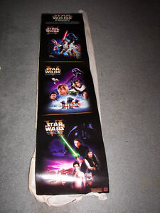 "Star Wars 10"" X 46"" Trilogy Promo Poster"