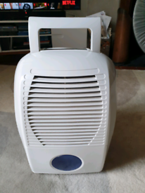 Dehumidifier. Like new. Bought from Argos. Removes 10 litres a day.