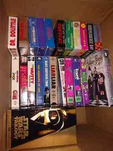 Around 65-70 VHS movies