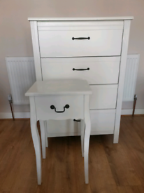 Ikea Drawer and bedside table bargain.