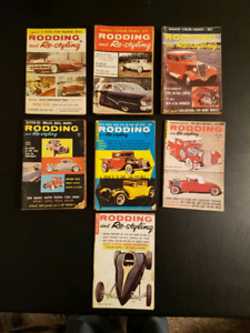 Vintage Mini Magazines Rodding and Restyling from 1950 and 1960