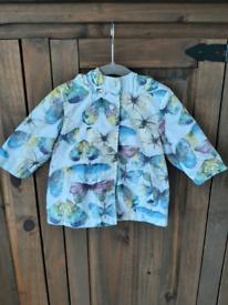NEXT baby lightweight waterproof jacket coat 6-9 months