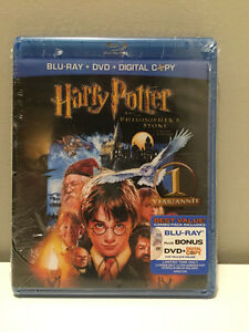 Harry Potter Movies BLU RAY + DVD Brand New Factory Sealed!