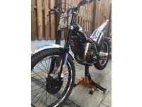Beta evo 300 2014 road legal trials bike