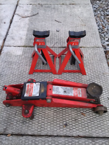 Canadian tire 2 ton jack and stands