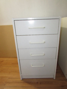 White Small drawer/Cabinet  $15 each