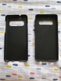 Samsung Galaxy S10 Dual Layer Soft Black Case Blackweb - New