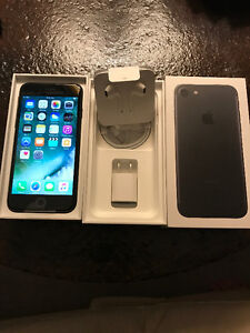 BNIB Iphone 7 Matte Black