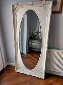 💕 Beautiful large ornate vintage style mirror