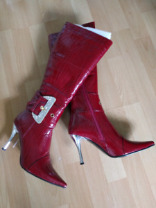 Ladies Boots  { long and ankle and calf }