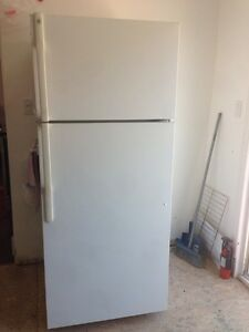 "GE white fridge 30"" ( in Milton )"