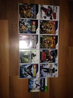 10 wii games and 1 Xbox