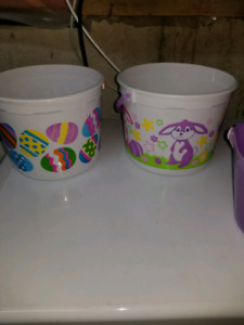 5x Easter Baskets $3 for the lot