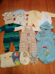 Lot of Boys' Clothes - size 3 months