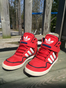 ADIDAS High Top Shoes size 8 1/2 mens for sale