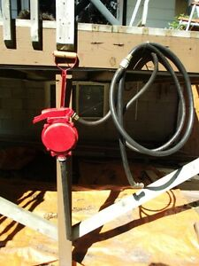 Manual Fuel Transfer Pump with Long Hose
