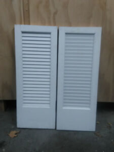 Wood shutters