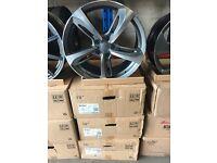 "19"" alloy wheels Alloys Rims tyre tyres 5x112 Vw Volkswagen Audi Seat Skoda"