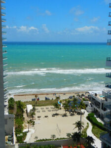 Beach front condo 16th floor Hollywood breathtaking view