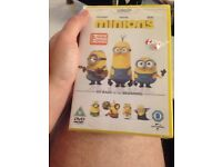 Minions DVD settled BRAND new